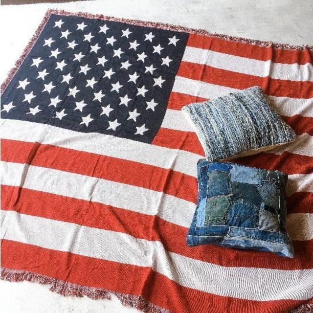 TOPANGA Homefurnishing USAフラッグスローケット 180×230cm
