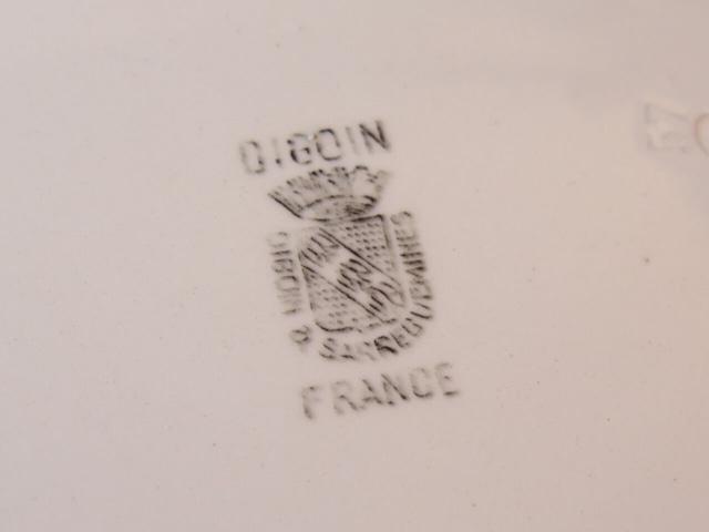 フランスアンティーク 持ち手付きプレート