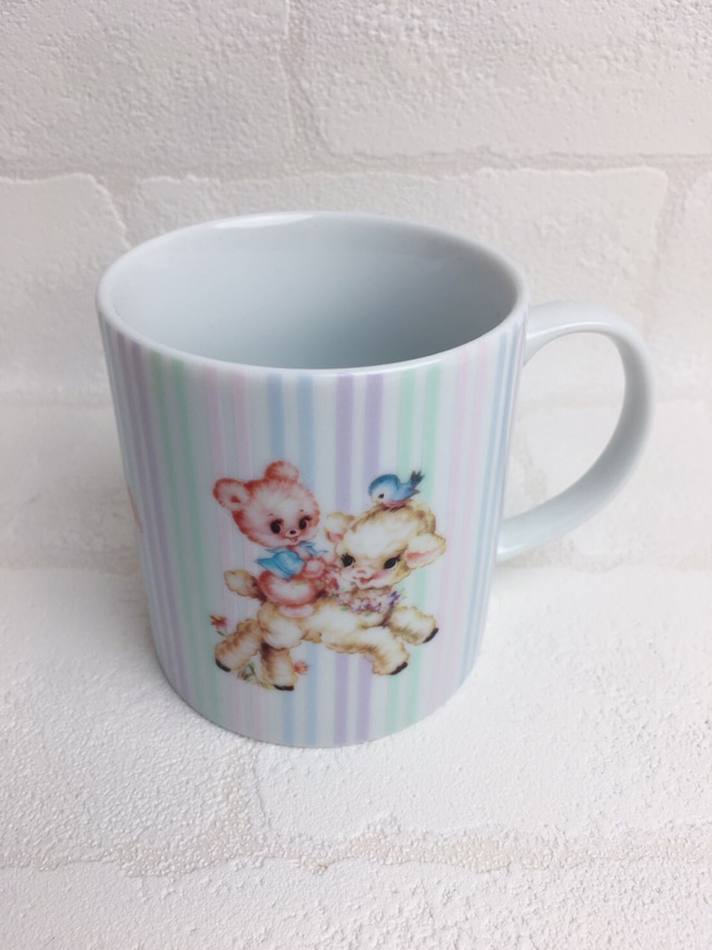 レトロアニマルマグカップ
