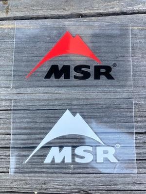MSR 転写ステッカーS
