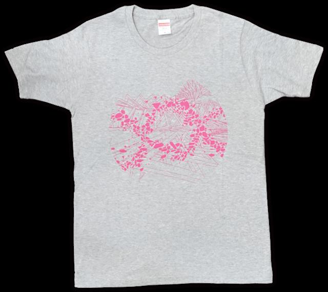 DUB SQUAD - MIRAGE Tシャツ(グレー) - メイン画像