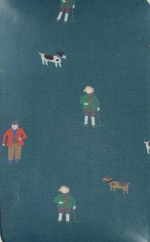 Little Thing Magazine リトルシングマガジン /プリントストッキング(Harold & his dog)