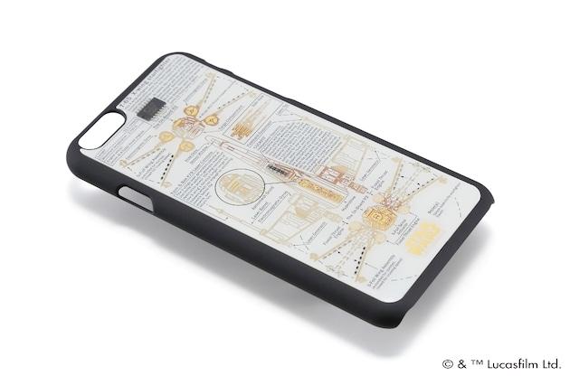FLASH STAR WARS 基板アートiPhone6/6s ケース  白  【東京回路線図A5クリアファイルをプレゼント】