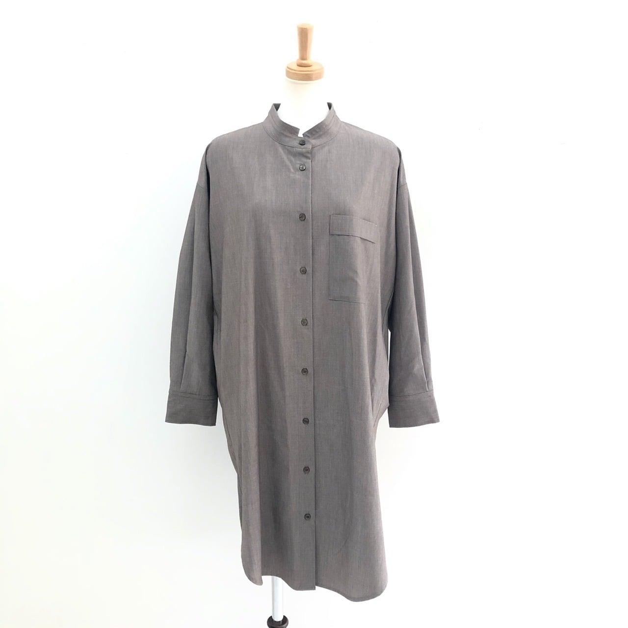 【 CHIGNONSTAR 】- 5102-034 - バックオープンシャツ