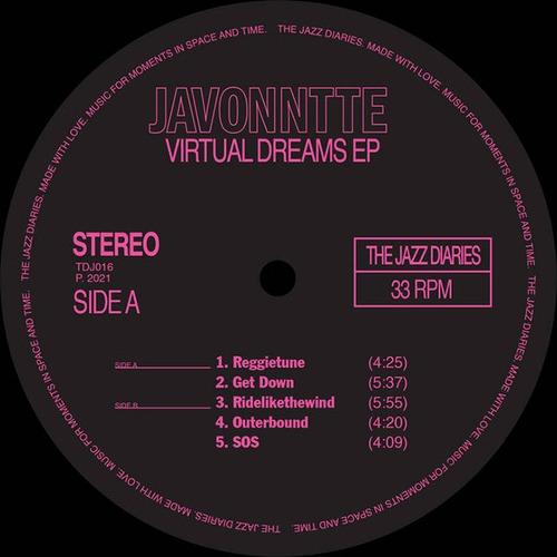 """【12""""】Javonntte - Virtual Dreams EP"""