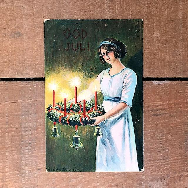 クリスマスカード「Jenny Nyström(イェニー・ニィストルム)」《201203-01》