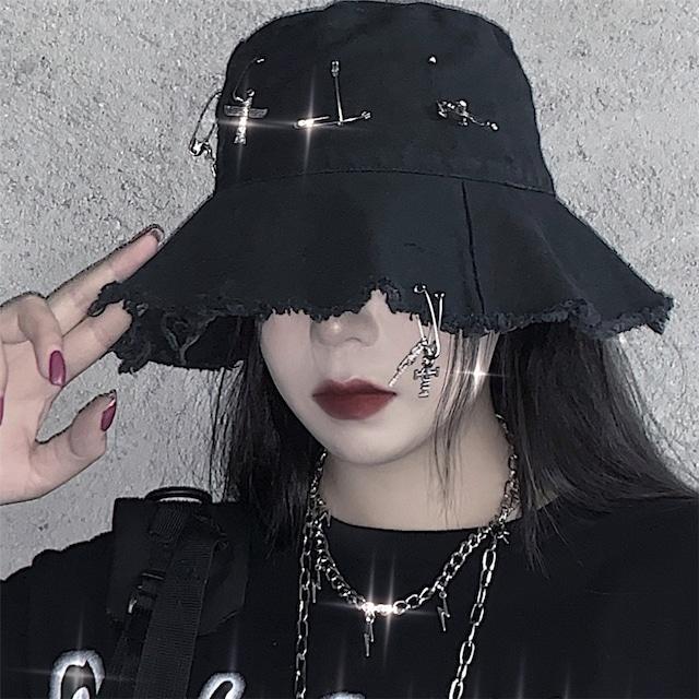 【小物】ストリートメタルアクセサリーカーリング帽子42895910