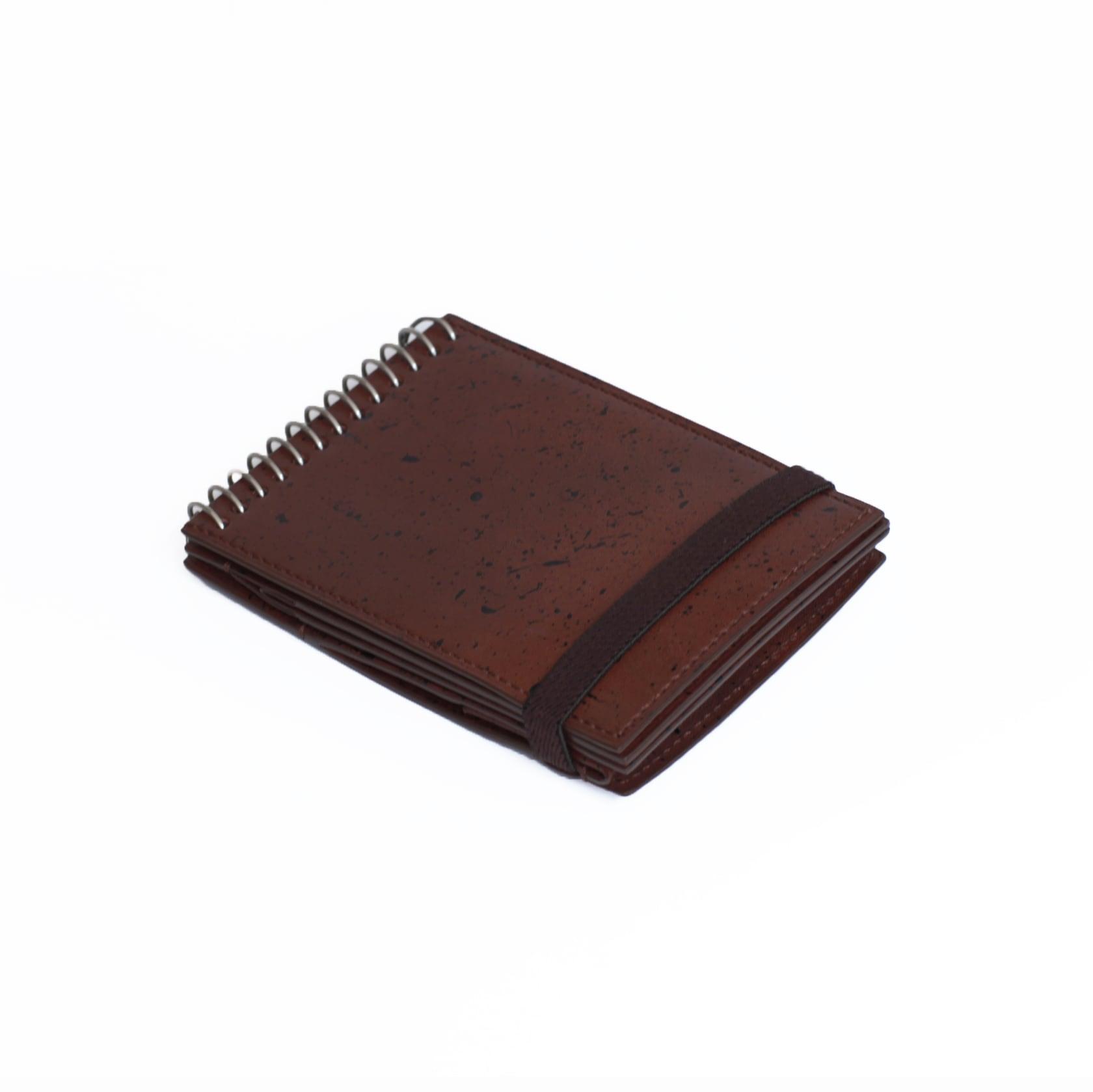 ED ROBERT JUDSON (エド・ロバート・ジャドソン) MEMO (メモ) メモ帳型 2つ折り財布 【ブラウン】