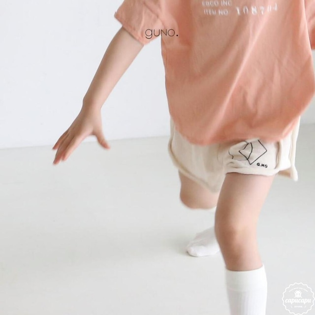 «sold out» guno easy shape short pants 2colors  イージーショート