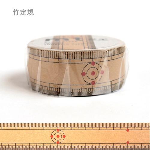 mt マスキングテープ「竹定規」