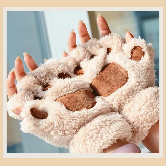 【小物】キュートプリント手袋42919521