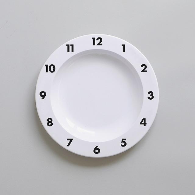 BUDDY+BEAR Dinner Time Plate 23cm [black]