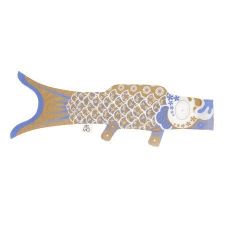Madame MO(マダムモー)こいのぼり Mサイズ100cm K013 Gold