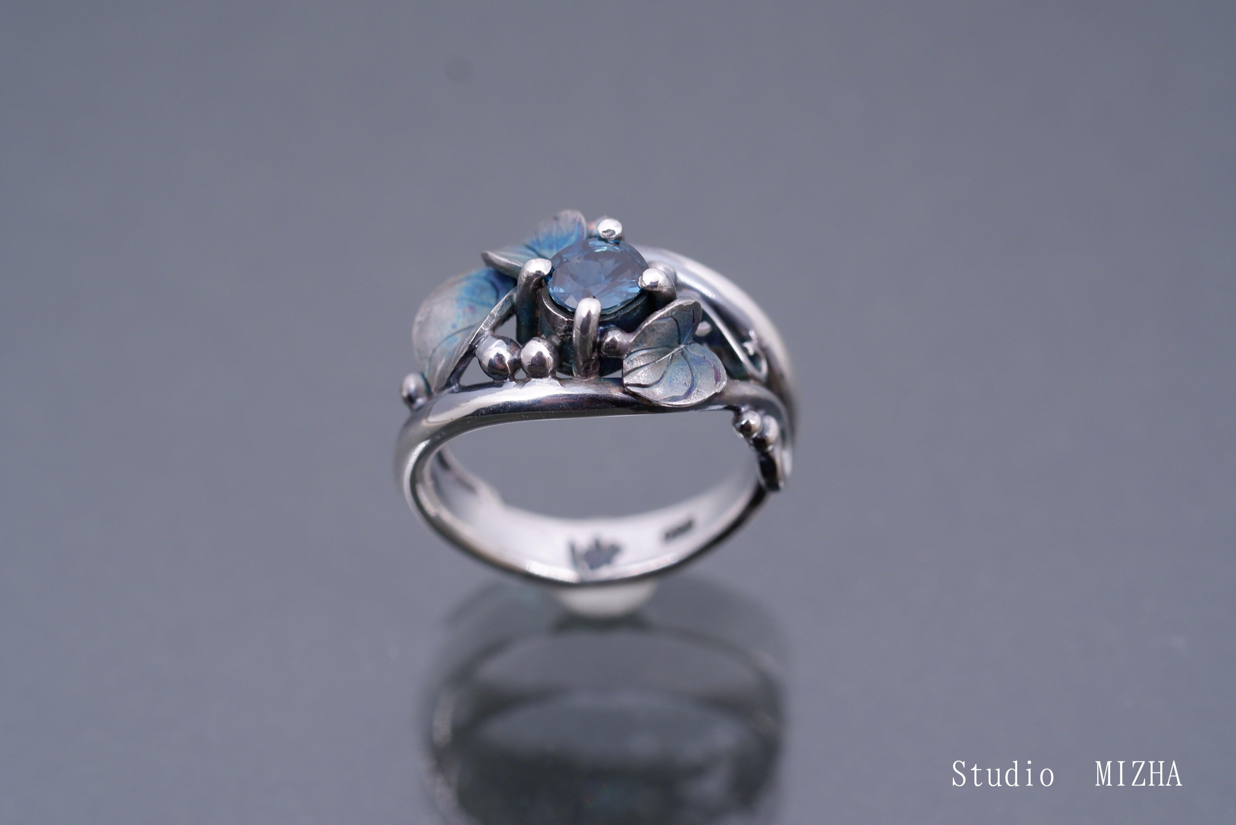 草あそび(金工の指飾りmr21625)