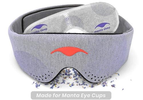 ラベンダーの香りに包まれて マンタ アロマヘッドストラップ (Manta Aroma Head Strap)