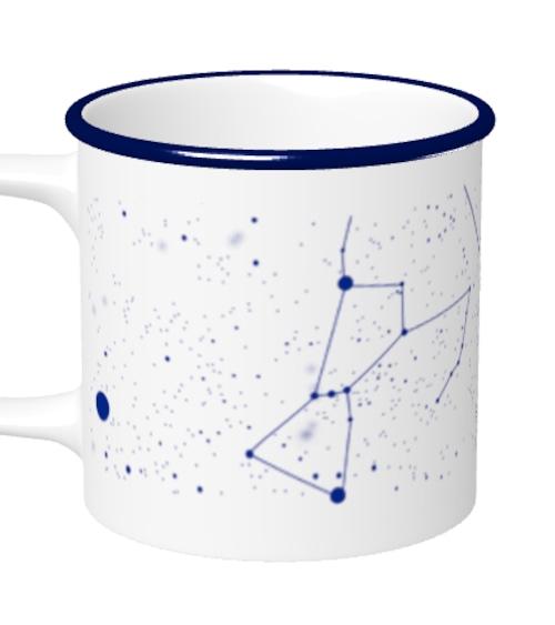南の夜空マグカップ(冬・紺)