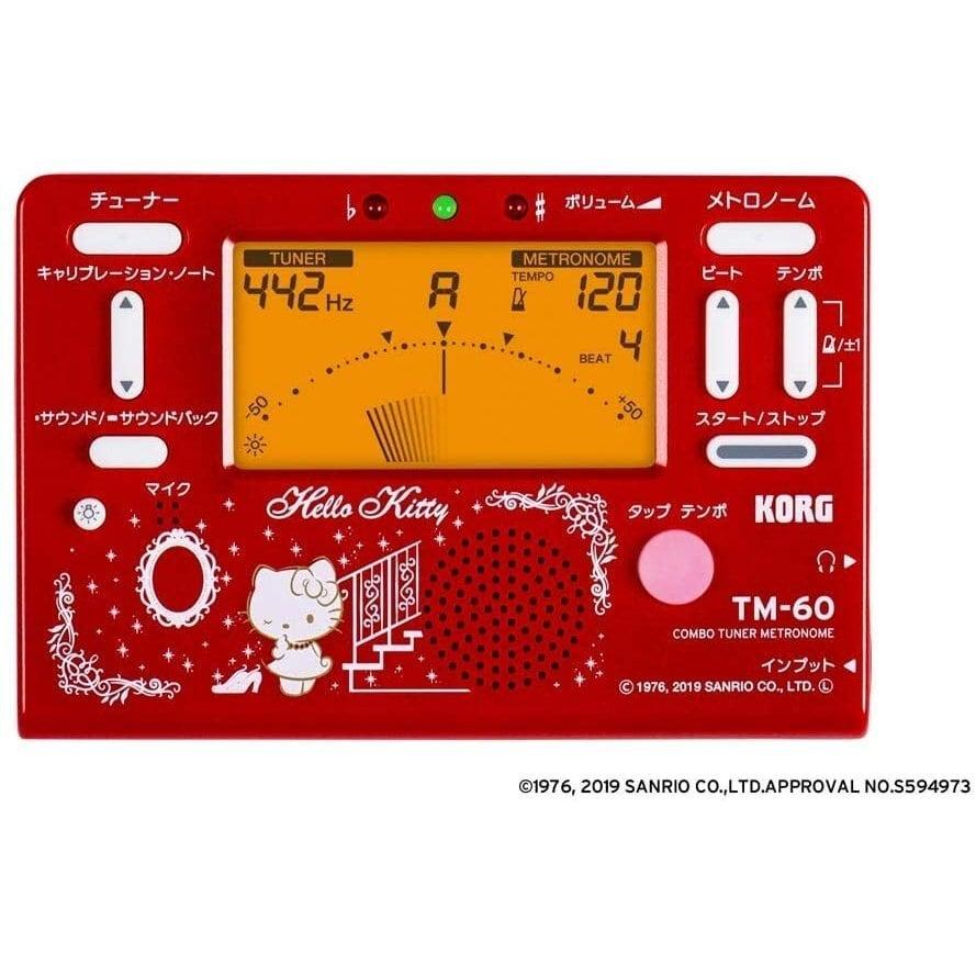 KORG(コルグ) コンボチューナーメトロノーム【ハローキティデザイン】TM-60-SKT2
