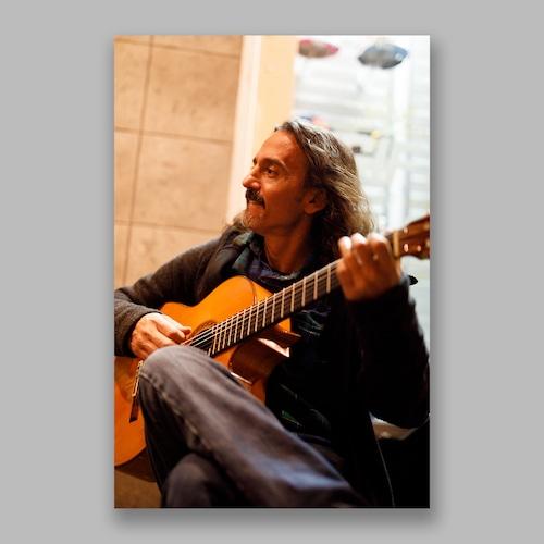 Postcard「Play Whenever You Want」13cm×18cm Original Print