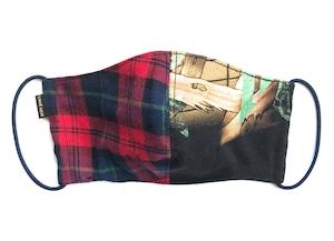 【COTEMER  マスク 日本製】CHECK × BAND MASK M0511007