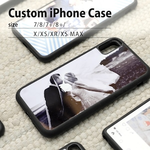 写真でオーダーメイド・カスタム(オリジナル)iPhoneカバー・ケース(7/8/7+/8+/X/XS/XR/XS MAX)/ハイブリッドiPhoneケース/