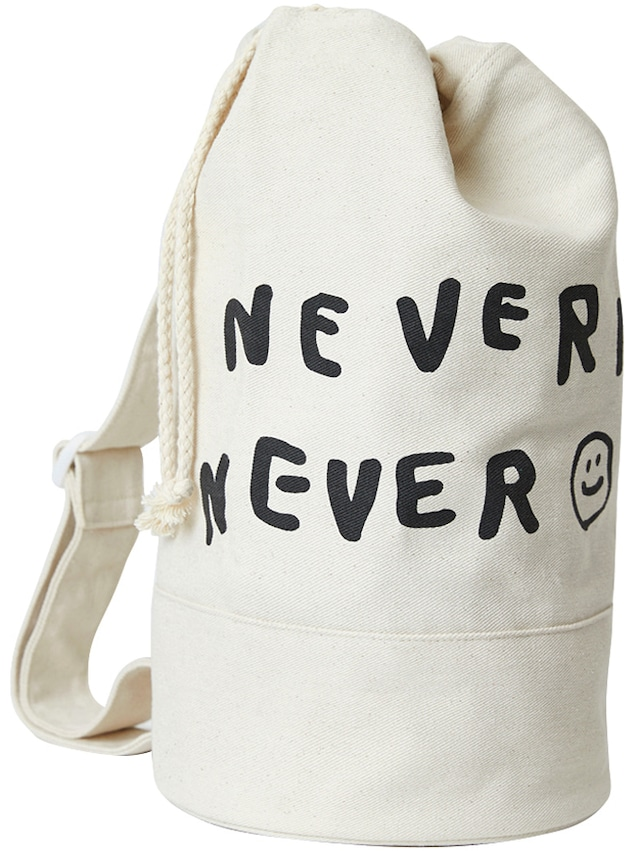 【inapsquare】DUFFLE BAG NEVERMIND