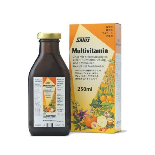 マルチビタミン【液体だから基本のビタミンがすばやく吸収される】