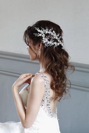 ブライダルヘッドドレス[HA-033]