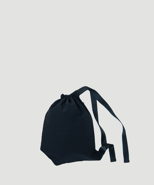 LORINZA   Nylon Shoulder Bag Peach Skin LO-19-ZX-04 Black