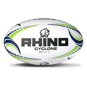 【送料無料】サイクロンXV 練習用ラグビーボール5号球(Cyclone XV Training Rugby Ball【SIZE 5】)