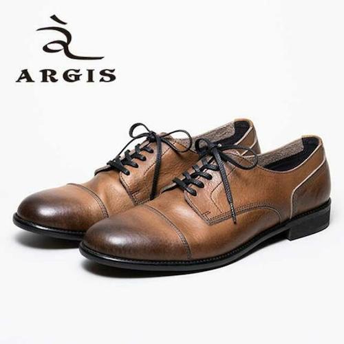 アルジス レザー シューズ カジュアル メンズ 靴 ARGIS 21138 グレー