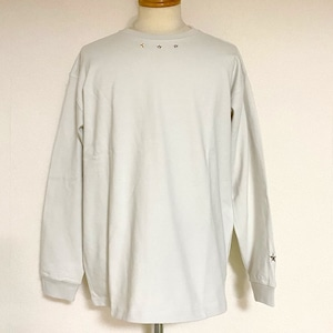 Star Studs Long Sleeve T-shirts Ash Beige