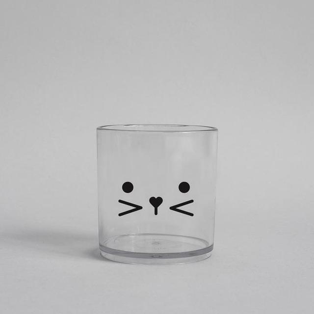 BUDDY+BEAR Bunny FaceTumbler 250ml [clear]