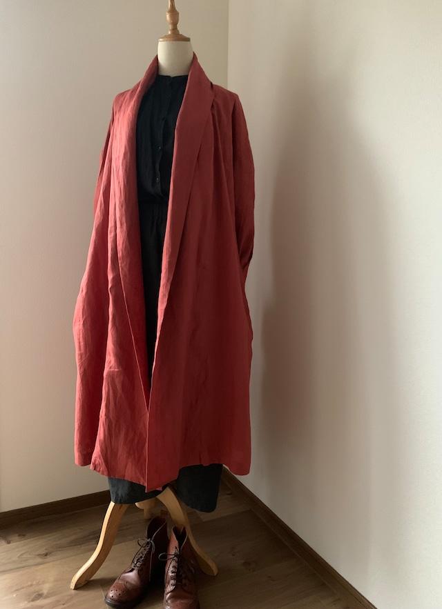 モン族刺繍いりローブコート