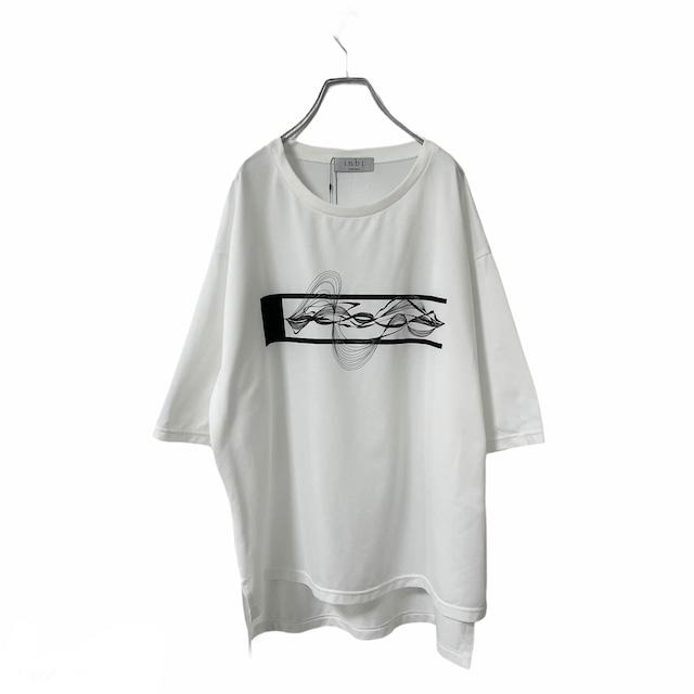 Basic-T-shirts  (white/inbi gp2)