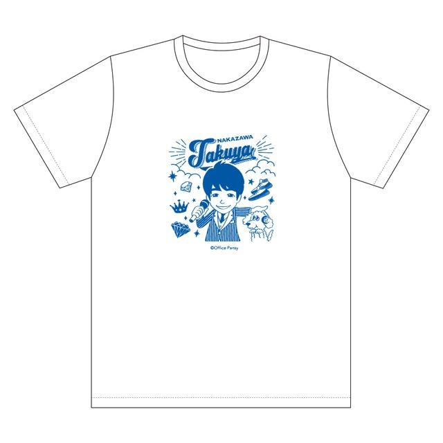 イラストTシャツ(白)