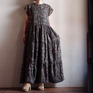 Select Item / Georgette Jacquard print Dress / ジョーゼット ジャガード プリント ドレス