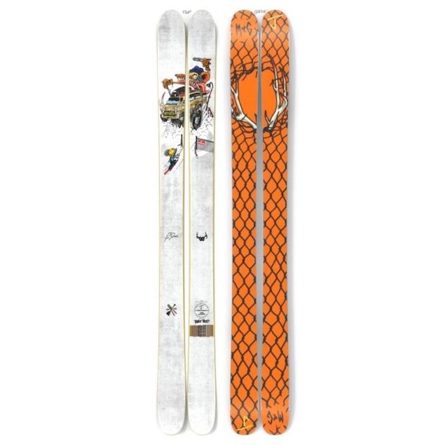 【予約】J skis - オールプレイ「ラット・ロッド」Sam Zahne x Jコラボ限定版スキー