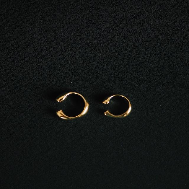 ibitsu earcuff gold set (small&large)