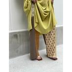 【RehersalL】 pajamas patch pants(morning) /【リハーズオール】パジャマパッチパンツ(モーニング)