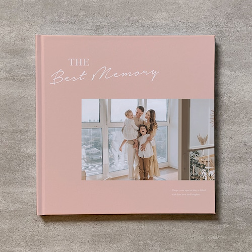 Simple pink-FAMILY_B5スクエア_6ページ/6カット_フォトブック
