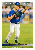 MLBカード 93UPPERDECK Brian Barnes #214 EXPOS
