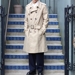.Dior HOMME COTTON TRENCH COAT MADE IN ITALY/ディオールオムコットントレンチコート2000000056982