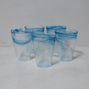 青い風のグラス