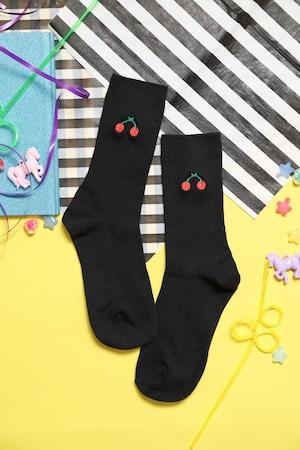 フルーツ刺繍ソックス 全11種