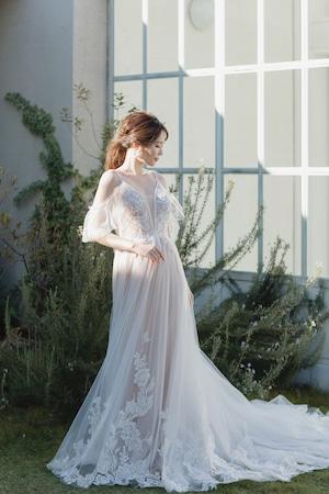 Wedding Dress/rental/A Line /DR6013 (旧品番DR2013)