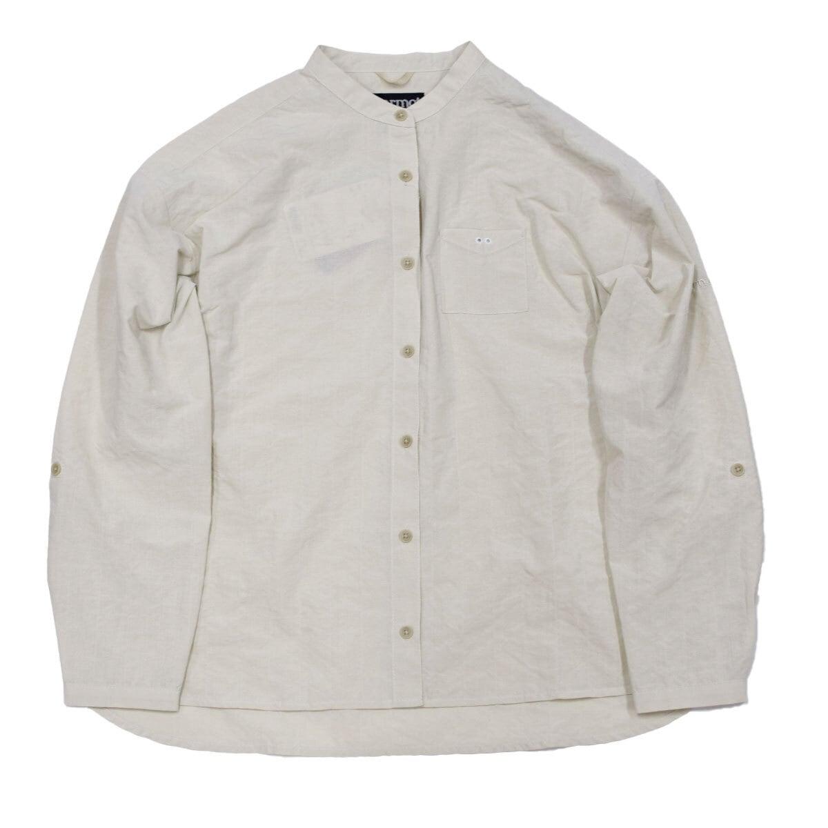 Marmot W's L/S Linen-Like Shirt  ウィメンズロングスリーブリネンライクシャツ(四角友里コラボ)
