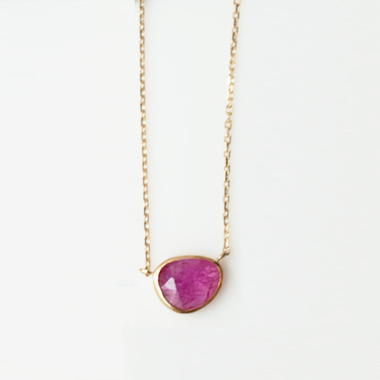 Ruby Necklace(CN001-RU)