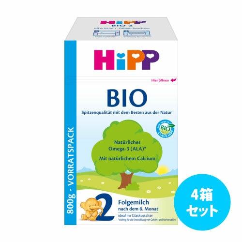 [4箱セット] Hippビオ粉ミルク800g (2~3,12)