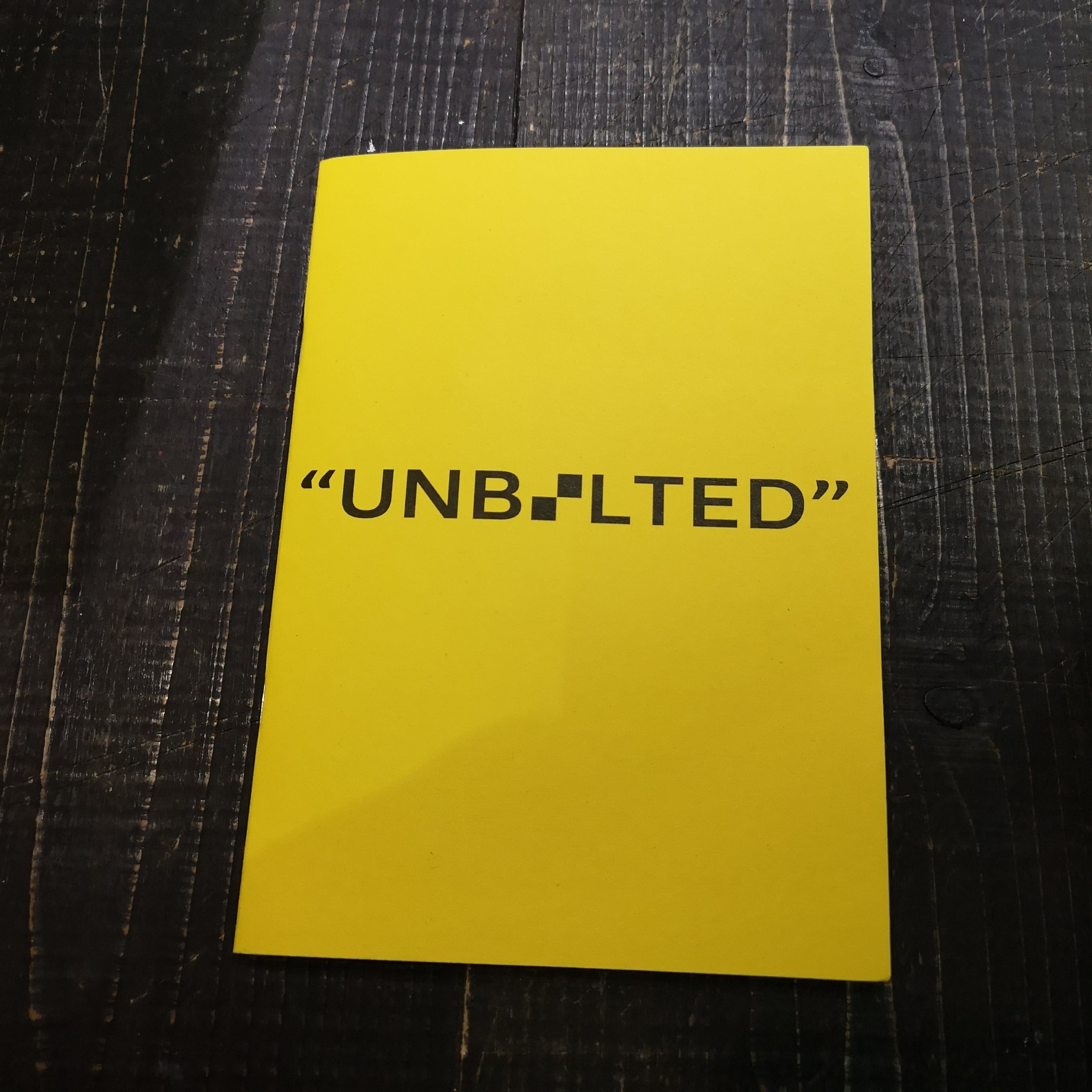 """UNBOLTED """"CARZINE2019"""" Artwork by FACE"""