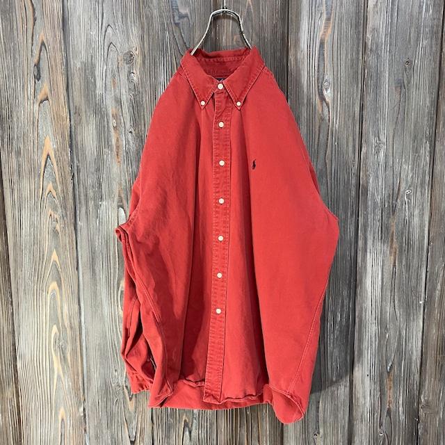 [Ralph Lauren]dark orange shirt